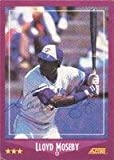 Lloyd Moseby Toronto Blue Jays 1988 Score Autographed Card - signed in ball point pen. This item comes with a certificate of authenticity from Autograph-Sports. Autographed