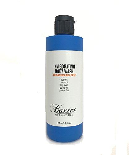 - Baxter of California Invigorating Body Wash for Men, Citrus & Herbal Musk, 8 oz.