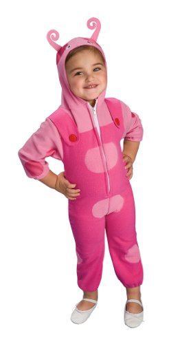 Rubies Backyardigans Deluxe Costume, Uniqua, (Backyardigans Uniqua Costume)