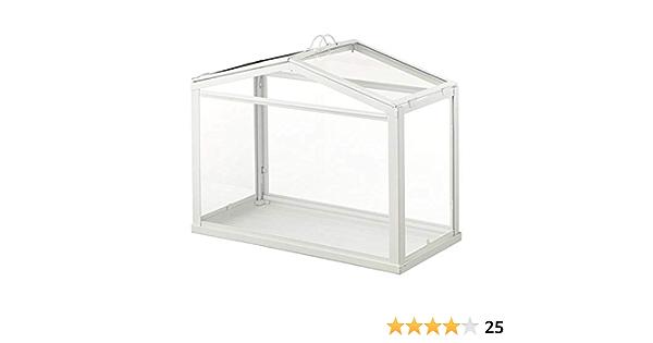 Invernadero IKEA Socker, tamaño mini, de mesa, con marco de acero para interior: Amazon.es: Hogar