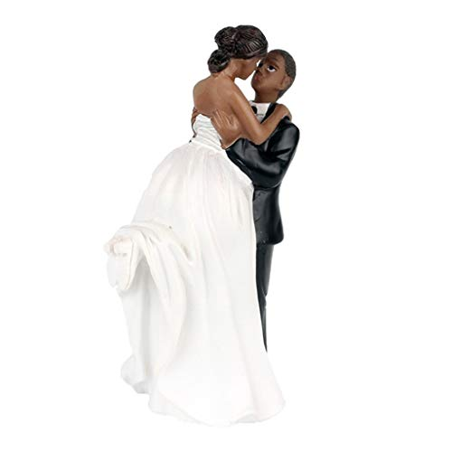 Wedding Resin Groom and Bride Couple Figurine Cake Stand Topper Accessories]()