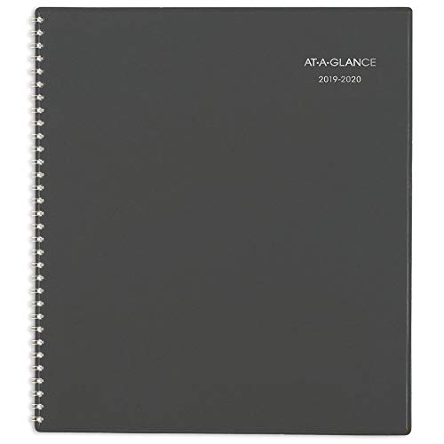 - AT-A-GLANCE 2019-2020 Academic Year Weekly & Monthly Planner/Appointment Book, Large, 8-1/2