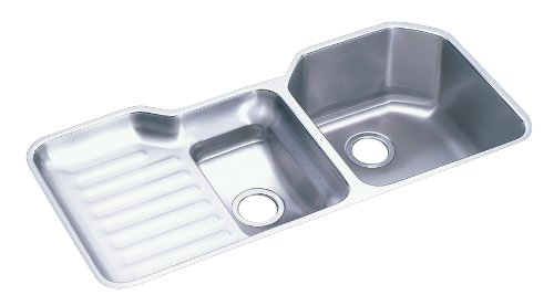 Elkay ELUH4221R Sink Double-Bowl Stainless Steel