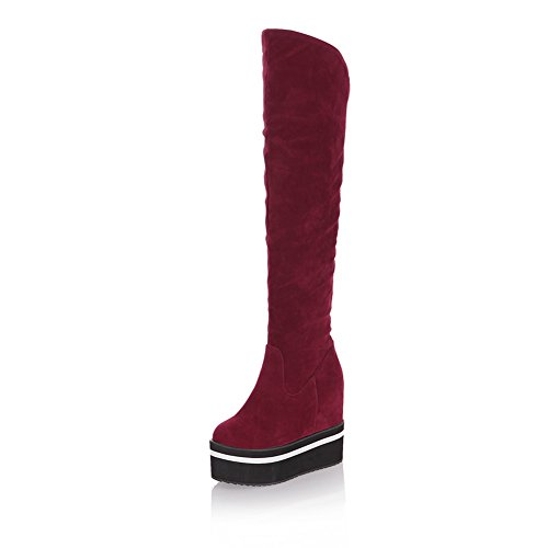 1TO9Mns01998 - Zapatilla alta mujer Red