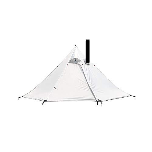 heirao4072 Ultraleichtes Outdoor-Campingzelt, Wasserdichtes, Sonnenbeständiges, Windresistentes Tipi-Zelt. Heißes Zelt…