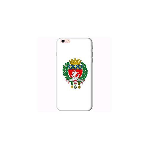 Coque Apple Iphone 6 Plus-6s Plus - Devise Paris blanche