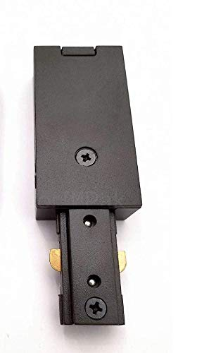 Dark Bronze Live End Feed Track Light Connector WAC Lighting HLE-DB H TrackLight Fixtures (Live End Conduit Feed)