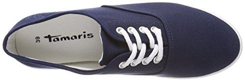 Bleu Femme Tamaris Sneakers Basses 23609 navy pqcfBAI1