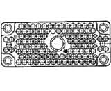 Pin & Socket Connectors 160POS CTR PLUG ASSY