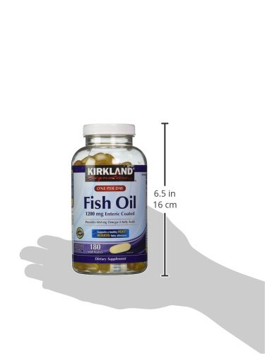Kirkland signature enteric coated fish oil omega 3 1200 mg for Enteric coated fish oil