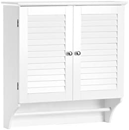 picture of RiverRidge Ellsworth Collection Two-Door Wall Cabinet, White