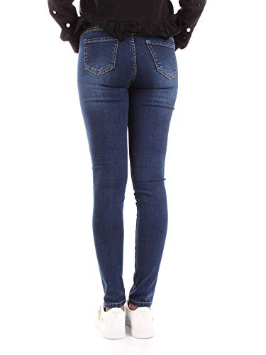 Donna Silvian Pga18917jedenim Jeans Blu Cotone Heach R68pF