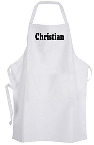 Christian - Adult Size Apron - Personalized Name