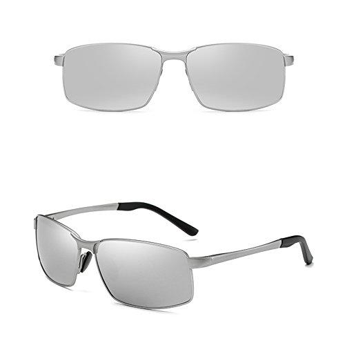 de Gafas Gafas ULTRAVIOLETA GYYTYJ los D cuadradas vidrios sol deportivas anti conducen de Color SSSX polarizadas los B que hombres Ewqq8A5r