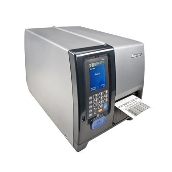 Intermec PM43A12000000301 Series PM43 TT Desktop Printer, 300 DPI, Touch Interface, WIFI, Serial, USB, Ethernet, Fixed Hanger, Thermal Transfer, US Power Cord by Intermec