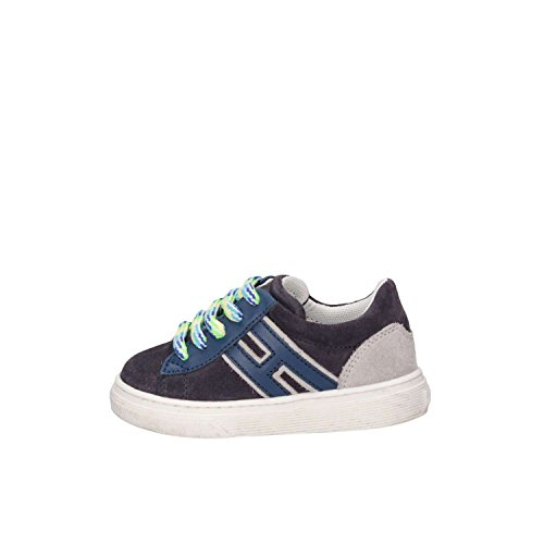Hogan Junior HXT3400K390HB90QBV Sneaker Baby Blau