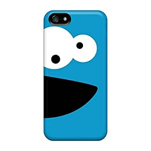 Fashionable Style Cases Covers Skin For Iphone 5/5s- Cookie Monster