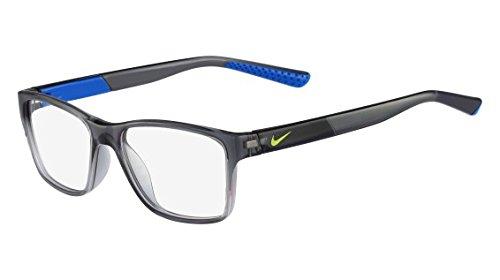 NIKE Eyeglasses 5532 060 Crystal Dark Grey/Photo Blue - For Nike Men Eyeglass Frames