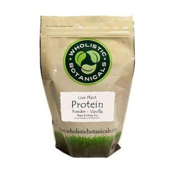 Wholistic Botanicals Live Plant Pea Protein Vanilla Powder