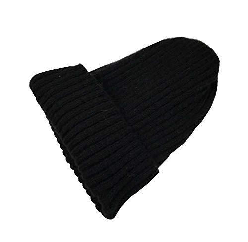 Black Moda Multicolor08 Temptation Plus Sombrero de para Sombrero Hombres Invierno 1 Grueso Terciopelo de Punto Sombrero de Punto ppq4ZnrT