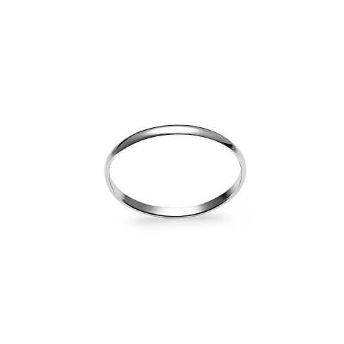 "River Island Jewelry - 925 Sterling Silver Light Weight Comfort Fit Wedding Band Ring ""Size 9"" from River Island Jewelry"
