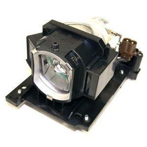 Qcoo DT01021 Replacement Lamp with housing for Projector Hitachi CP-X2010, X2510, X2010N by -