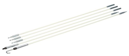Greenlee 540-8M Glo Stix Kit With Bullet and J Hook Nose Tips, 3/16