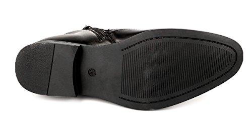 Ds Chaussures Mode Hommes Oxfords Wingtip Cheville Bottes Robe Casual Chaussures Noir Tan Marron Noir