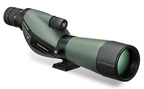 - Vortex Optics DBK-60S1 Diamondback 20-60x60 Straight Spotting Scope, Green