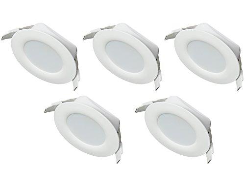 Ultra Flach LED Einbaustrahler IP44 | auch für das Bad geeignet ...