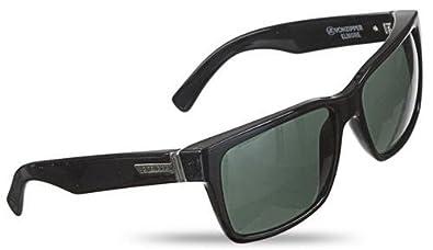 e1919d8f97 Image Unavailable. Image not available for. Color  Von Zipper Elmore Men s  Sunglasses - Black Gloss Frame   Vintage Grey Lens
