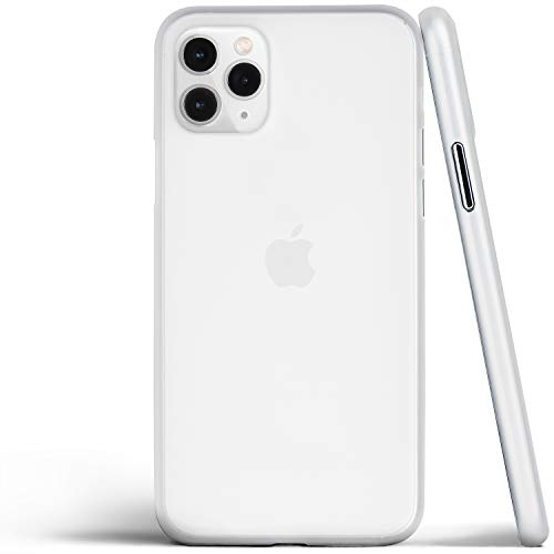 totallee Thin iPhone 11 Pro Case, Thinnest Cover Ultra Slim Minimal - for Apple iPhone 11 Pro (2019) (Frosted Clear)