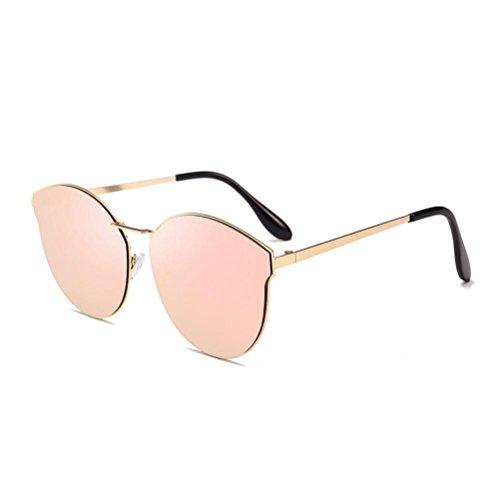 Metal Para Con Polarizadas LHWY Conducir De Gafas De Sol Lentes C Gafas UV400 ÚNica De Marco Talla Unisex Gafas Grandes A Contra Retro SI6TqY