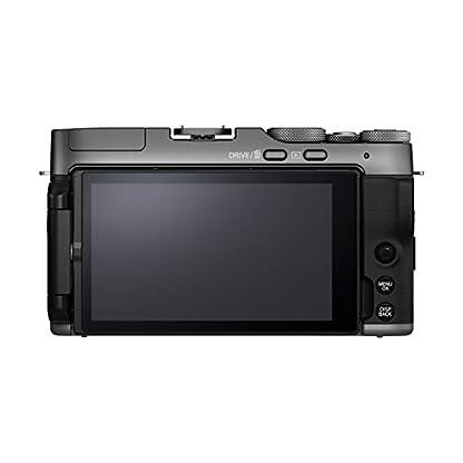 "Fujifilm X-A7 24.2 MP Mirrorless Camera with XC 15-45 mm Lens (APS-C Sensor, Large 3.5"" Vari-Angle Touchscreen, Face/Eye Auto Focus, 4K Video Vlogging, Blur Control, Film Simulations) - Dark Silver 3"