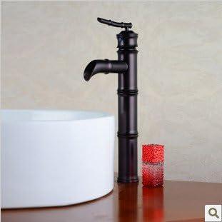 Yanksmart Bamboo Style Single Handle Black Tap Kitchen Sink Bathroom Basin Mixer Faucet .Oil Rubbed Bronze Ys-7439