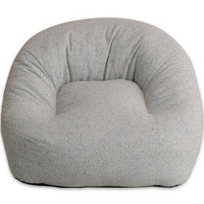 エムール 日本製 あぐらがしやすい座椅子 iruneruTOKYO 『マフィー』 グレー B00JZCW16K グレー グレー