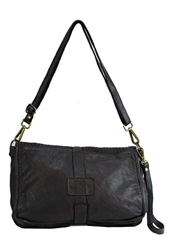 B2050 Bzna Nero 0200 M Black Bag Shoulder Women's Rx5851ZfqU