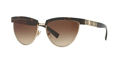 Versace VE2169 125213 Tortoise / Gold VE2169 Oval Sunglasses Lens Category 3 - Versace Pictures Of Sunglasses