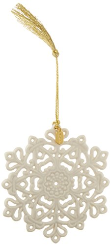 Lenox 2017 Snow Fantasies Snowflake (China Snowflake Ornament)