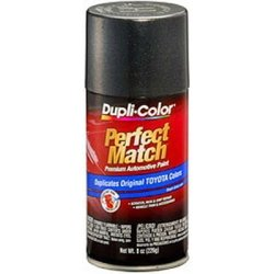 Dupli-Color Paint BTY1600 Dupli-Color Perfect Match Premium Automotive Paint; Graphite Gray Pearl; Paint Code 1C6; 8 oz. Aerosol;