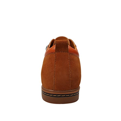 Sun Firenze Uomo Business Casual Stringate Eleganti Scarpe In Pelle Scamosciata Marrone 39