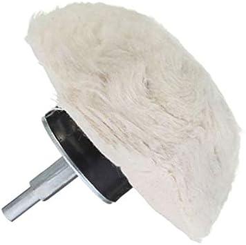 Maslin - Almohadilla para pulir llantas (100 mm, 100% algodón ...