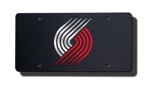 NBA Portland TrailbLasers Laser Cut Auto Tag