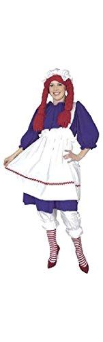Rag Doll Adult Costume - Plus Size 1X -