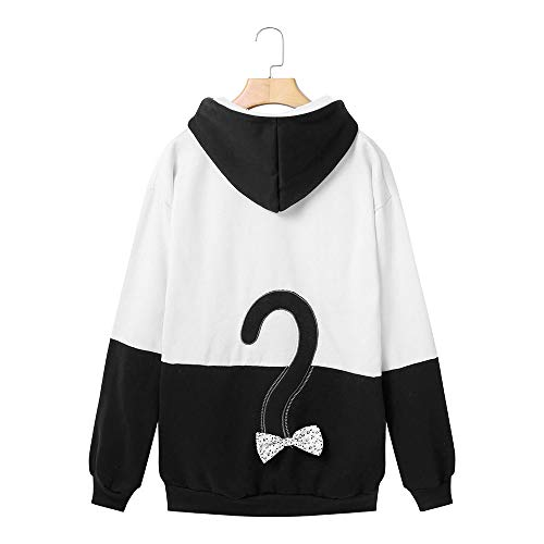 T Tumblr Felpe Pullover Top Pullover Shirt Camicetta Gatto Ricamo Felpa Autunno Bianco Donne Camicetta Elegante Manica Camicia Lunga VICGREY Autunno f6wq5df