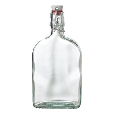 LakeLand Boating Clear Glass Sloe Gin Gifting Bottle with...