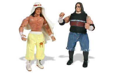 TNA Wrestling Series 3 Action Figure 2-Pack Raven vs. Sabu ()