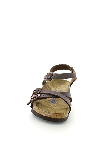 Mujer sandalias Birkenstock 026163 KUMBA marrón