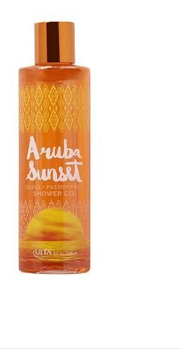 ULTA Summer Limited Edition Classic Rejuvenating Bath & Shower Gel in Aruba Sunset by - Mall In Stores Sunset