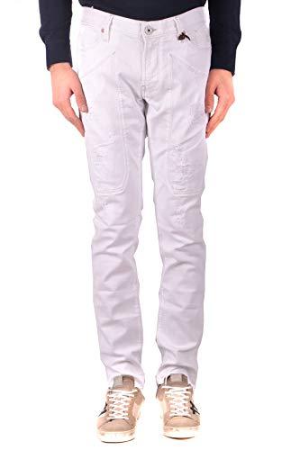 Hombre Mcbi36212 Algodon Jeckerson Jeans Blanco w1gddq